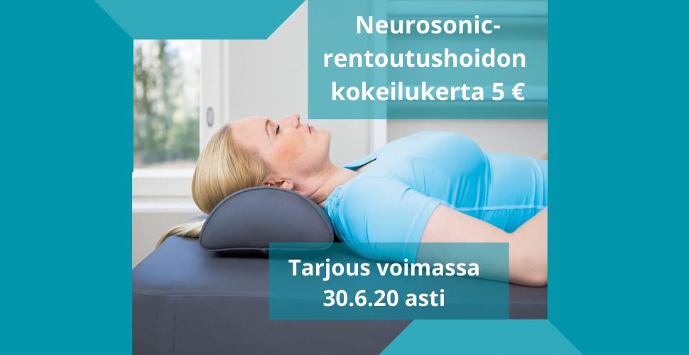 Neurosonic- rentoutushoito