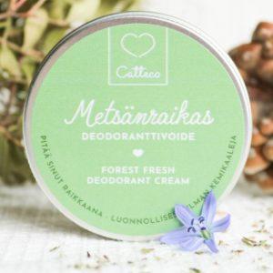 Tuotekuva Catteco Deodoranttivoide Metsänraikas