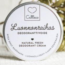 Tuotekuva Catteco Luonnonraikas Deodoranttivoide