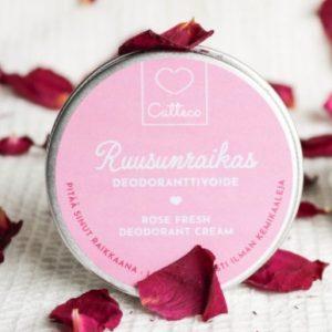 Tuotekuva Catteco Ruusunraikas Deodoranttivoide