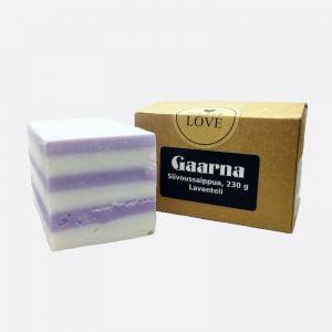 Tuotekuva Gaarna Siivoussaippua, laventeli 230g
