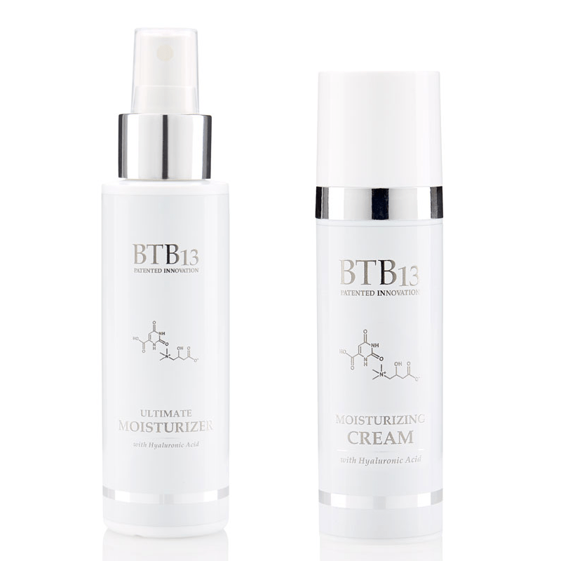 Tuotepakkaus BTB13 Ultimate moisturizer & Ultimate cream